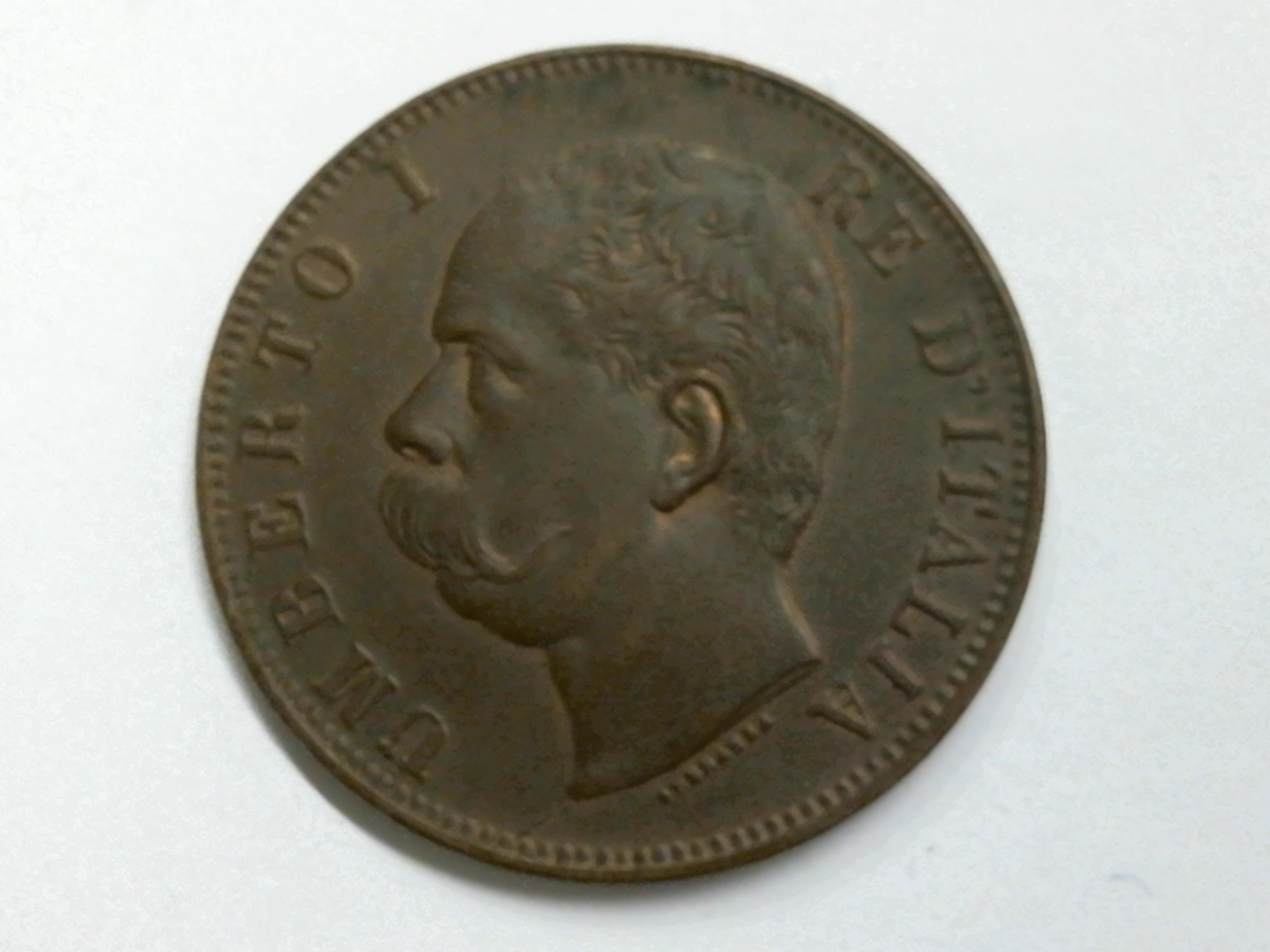 5ce2f6f389 10 Centesimi 1893 Roma - Numismatica Internazionale