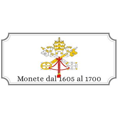 Monete dal 1605 al 1700
