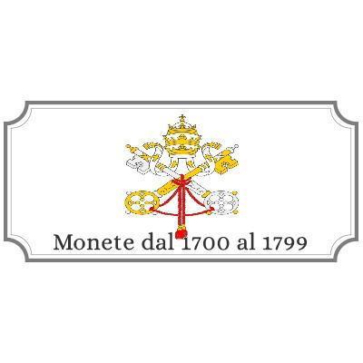 Monete dal 1700 al 1799